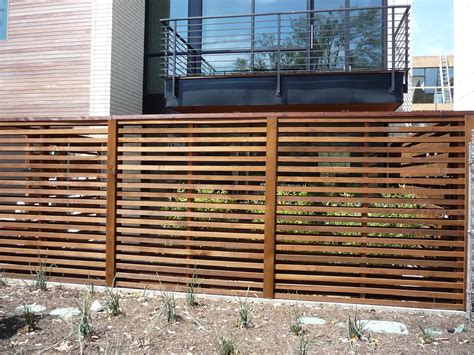 horizontal fence wood fences cowboy fence and iron