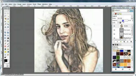 video tutorial on gimp gimp tutorial turn photo into soft colour pencil drawing