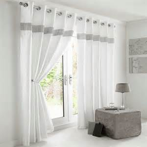 White And Silver Curtains Diamante Eyelet Lined Curtains White Silver Tony S Textiles Tonys Textiles