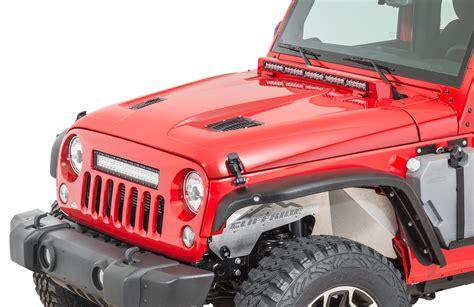 jeep vented hood cliffride lucerne fiberglass hoods for 07 18 jeep wrangler