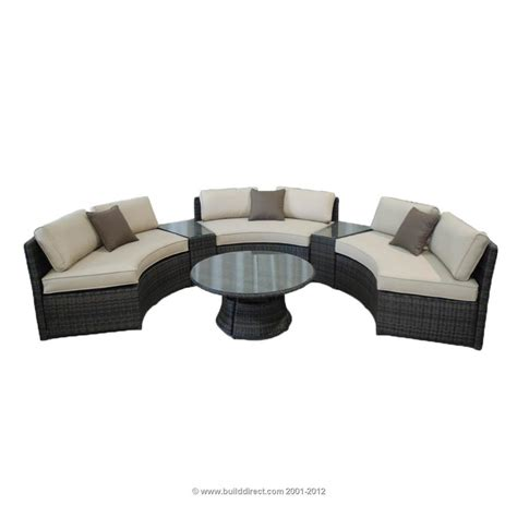 Builddirect Patio Furniture by Kontiki Conversation Sets Wicker Sofa Sets Monte Carlo 6