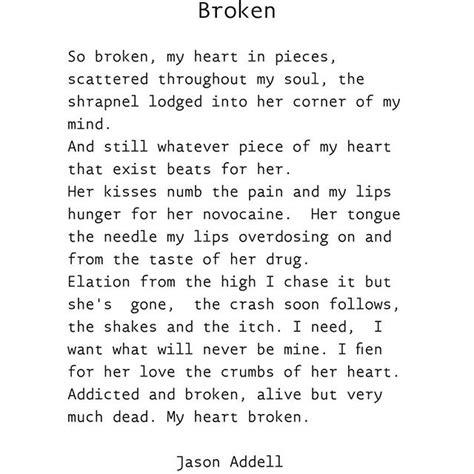 Broken Poem Love Poet On Instagram