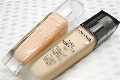 Lancome Mat Miracle 01 lancome mat miracle 24h foundation review cover