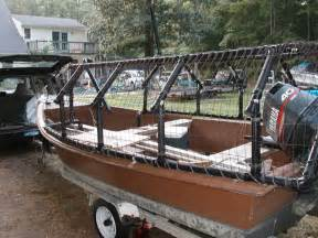 Duck Blind Ideas Permanent Duck Boat Blind Plans Favorite Plans