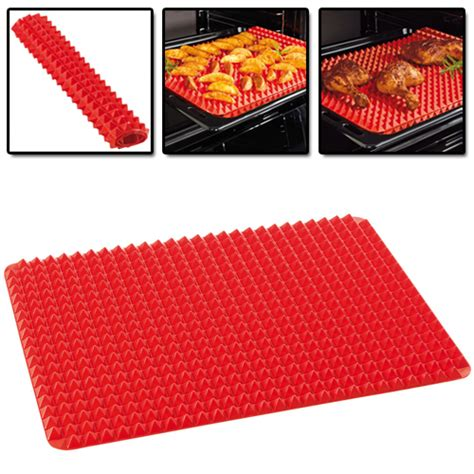 Silicone Baking Mat How To Use by Asotv Pyramid Pan Non Stick Silicone Mat Lazada Malaysia