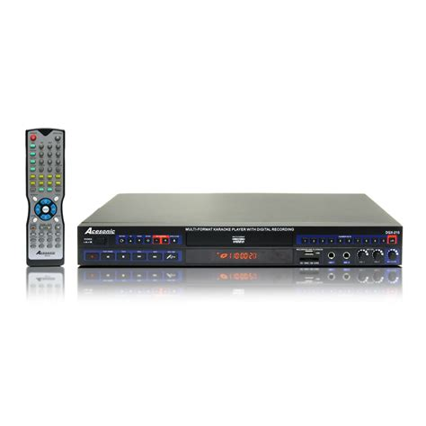 format video karaoke acesonic dgx 210 multi format karaoke player open box
