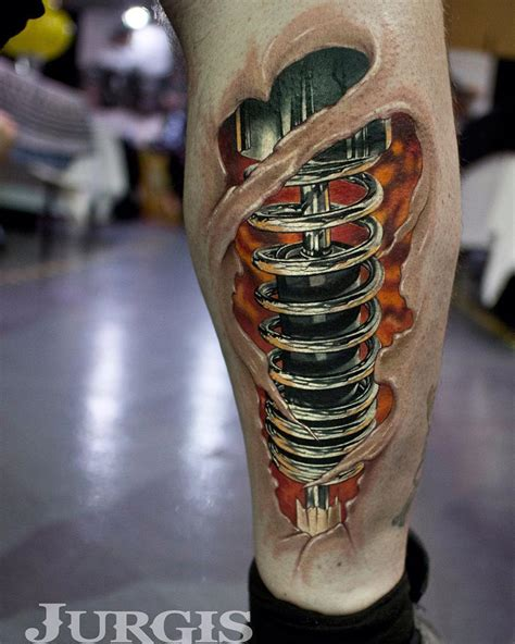 shock absorber biomechanical leg best tattoo design ideas