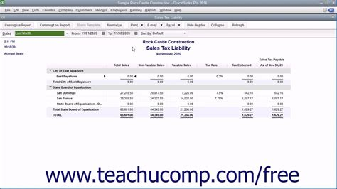 quickbooks tutorial youtube 2016 quickbooks pro 2016 tutorial sales tax reports intuit