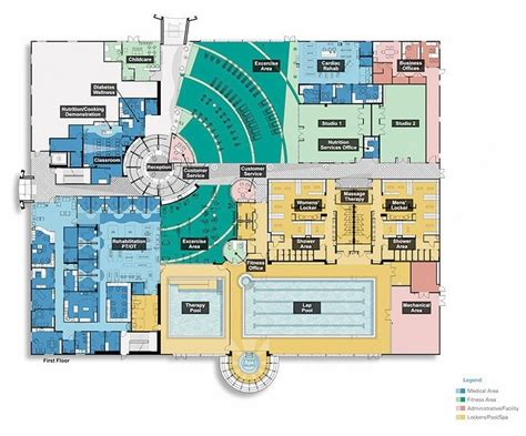 wellness center floor plan wellness center floor plan of the center school
