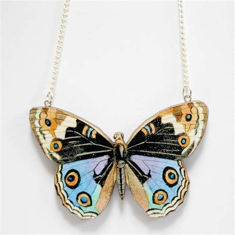 Freya Necklace freya wooden butterfly necklace by ladybird likes notonthehighstreet
