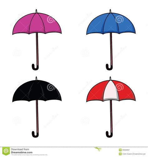 set umbrella umbrella set royalty free stock photography image 33036367