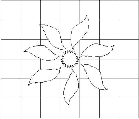 imagenes faciles para dibujar en cuadricula una forma matem 225 tica de dibujar