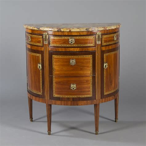Commode Louis 16 by Commode Demi Lune Estill 233 E D 233 Poque Louis Xvi