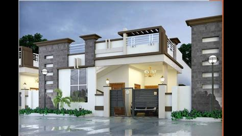 single floor elevations designs  elevation