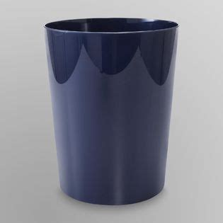 Navy Bathroom Accessories by Cannon Wastebasket Navy Home Bed Bath Bath