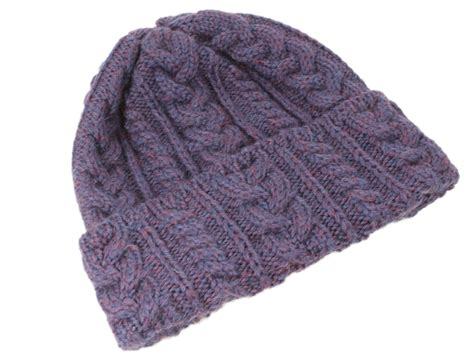 knitting supplies ireland cable knit cap wool made in ireland ebay