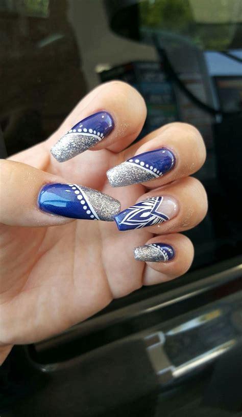 cowboy colors 17 best ideas about dallas cowboys nails on