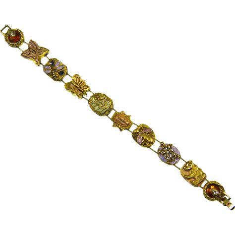 slide charm bracelet aesthetic style from