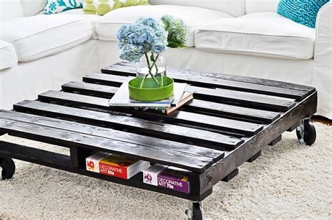 Low Rise Coffee Table Wooden Pallet Coffee Table Diy Furniture Meubles Pinterest