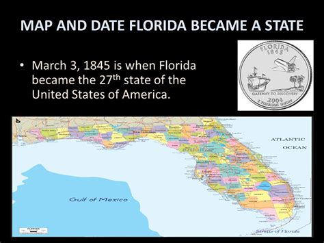 Florida The 27th State by Jaden Pearson Room 303 Mrs Jackson Ppt