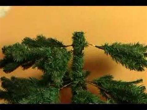 how to set up an artificial christmas tree how to add