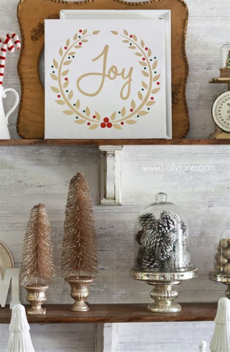 how to decorate shelves for christmas 187 lolly jane