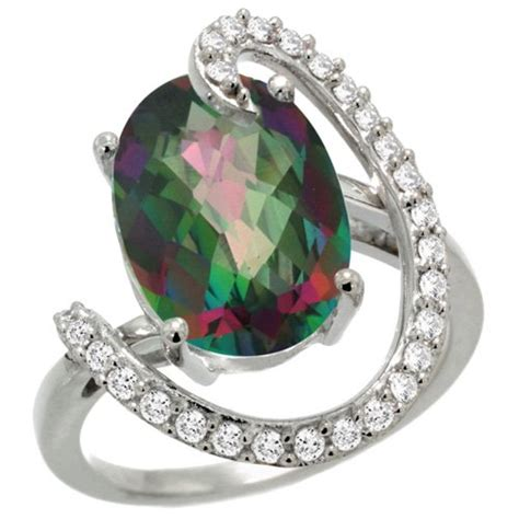mystic topaz engagement rings review