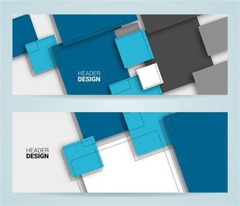 Header Footer Design Free Vector Download 555 Free Vector For Commercial Use Format Ai Eps Header Template