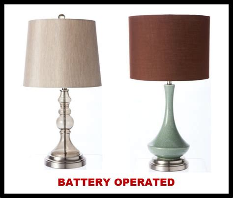 battery operated table lights battery operated l battery operated cordless table