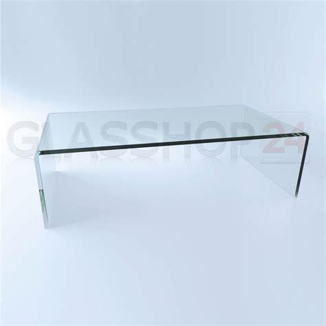 Glastische Design by Exklusiver Design Glas Couchtisch Echtglas Tisch