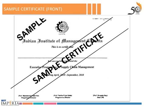 Executive Mba In Supply Chain Management From Iim by Advanced Program In Supply Chain Management Iim Culcatta