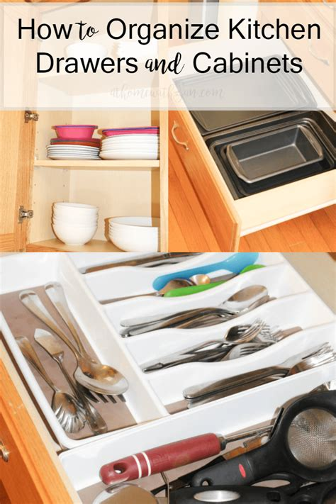 how to organize kitchen cabinets and drawers how to