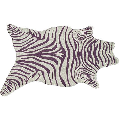 purple zebra rug zebra purple and white rectangular 8 ft x 10 ft rug the rug market area rugs rugs home