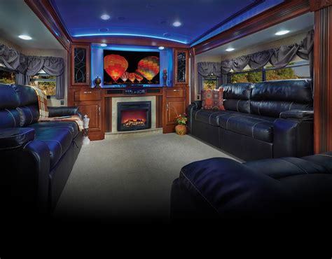 fifth wheel with living room up top fifth wheel cers with front living rooms roy home design