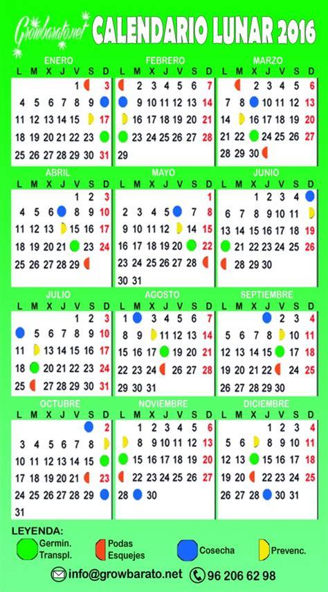 calendario lunar 2016 free de juliaro el calendario lunar