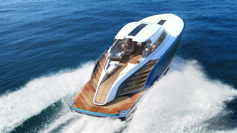 boat day aeroboat s6 day boat revealed robb report