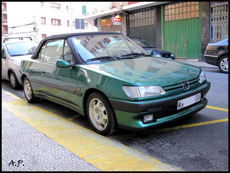 peugeot 306 convertible file 1995 peugeot 306 convertible roland garros