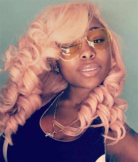 Pink Weave Hairstyles by 49 Curly Weave Hairstyle That Turns Your In