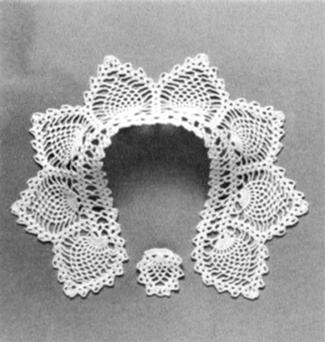 pattern crochet lace collar crochet lace patterns crochet collar patterns peter pan