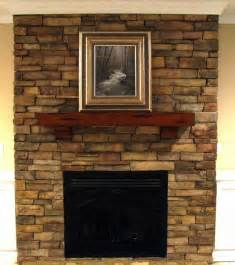 fast construction rock fireplaces