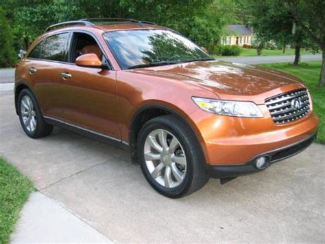 car owners manuals for sale 2008 infiniti fx seat position control 2005 infiniti fx45 overview cargurus