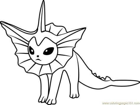 pokemon vaporeon coloring pages coloring book pikachu vaporeon pokemon go coloring page free pok 233 mon go
