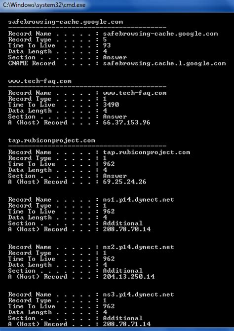 Dns Lookup Command How To Perform A Dns Lookup
