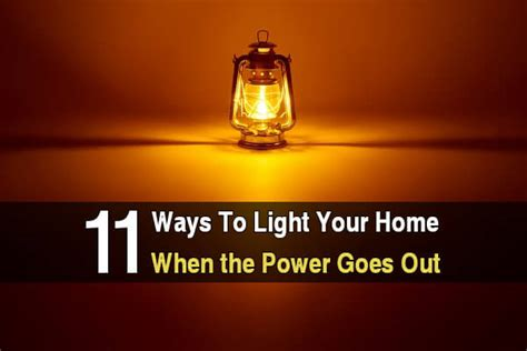 emergency lights when power goes out 11 ways to light your home when the power goes out