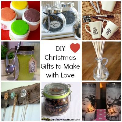 10 diy christmas gifts to make with love natural new
