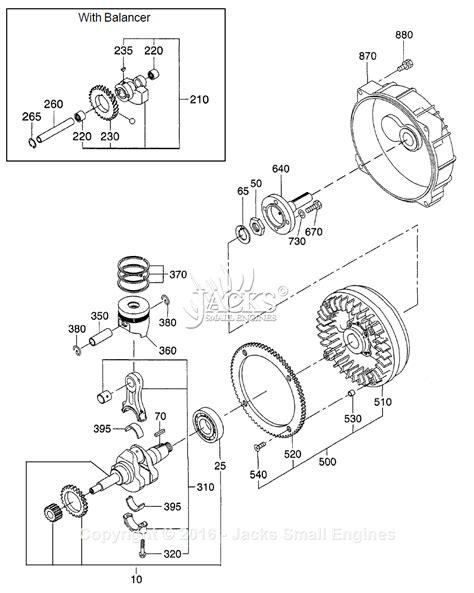 crankshaft parts diagram robin subaru dy41 parts diagram for crankshaft
