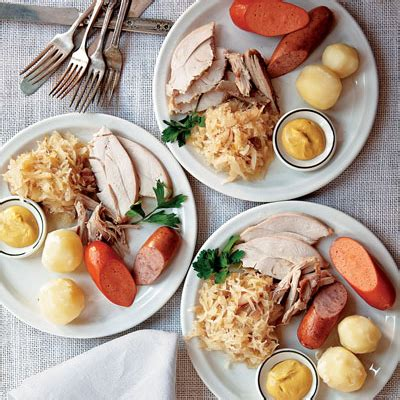 Traditional German Thanksgiving Meal