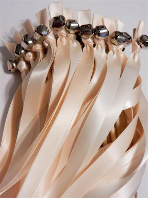 75 wedding ribbon bell wands send bells wedding - Wedding Bell Send