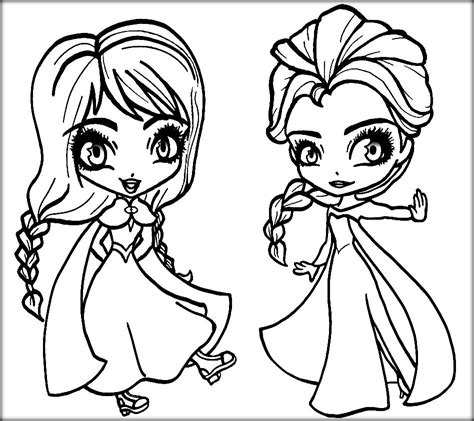 frozen coloring pages baby elsa frozen anna and elsa coloring pages coloring home
