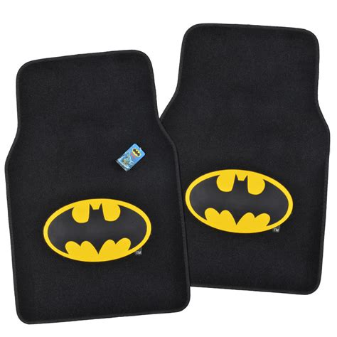 Batman Car Floor Mats official products wb batman floor mats for car suv fan